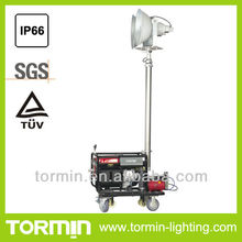 MH Power Remote control mobile light tower wiht 2 x 400W Metal halide lamp mobile light tower