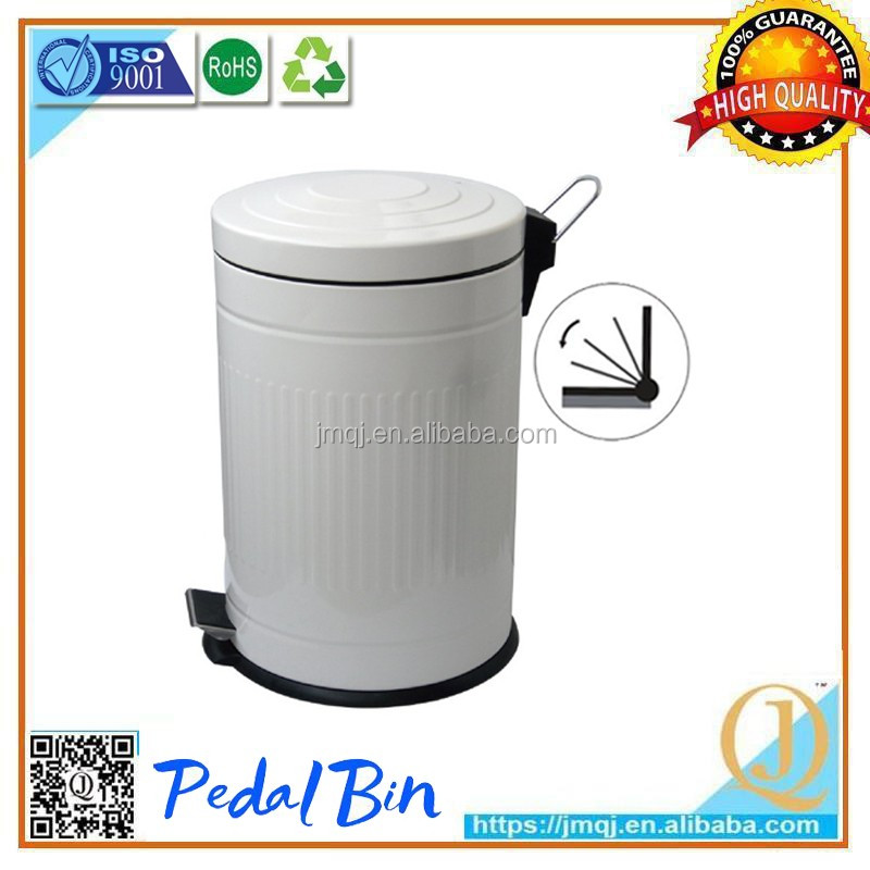 Factory made fashionable medical waste bin baskets metal bins bulk collection trash cans