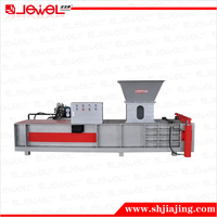 CE certified factory supply Horizontal sawdust briquette machine hydraulic press
