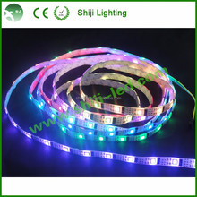 Waterproof programmable ws2801 rgb led strip 100m 5v