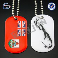 Cheap chrome plating couple dog tags