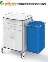 Medical Cleaning Trolleys With Linen Bag