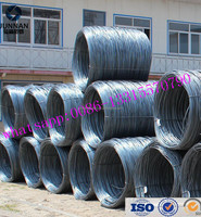 wire rod size 7mm /Steel wire/ms wire rod for nail