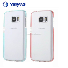 High quality back cover for samsung galaxy note 5 edge soft gel protective case
