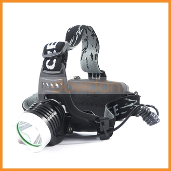 LED Cree Hunting Fishing Cycling Headlight 1200LM 3 Mode 18650 DC Charging XML T6 Headlamp