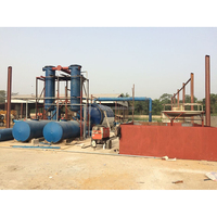 Reproducible Energy Waste Plastic Pyrolysis plant to diesel_Used Tires Recycling Pyrolysis Plant Manfacturer