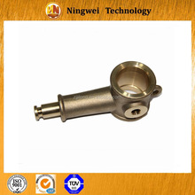 Long holder main body aluminum bronze precision casting machining for motor car parts