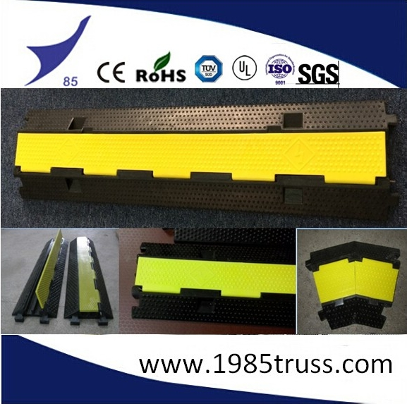 Alibaba 3 Channel Rubber Cable Tray for Cable Guarding