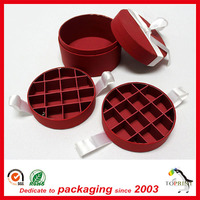 Food grade paper tube cylinder packaging box for food chocolate candy paper tube packaging