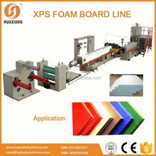 XPS board styrofoam insulation board extruder machine