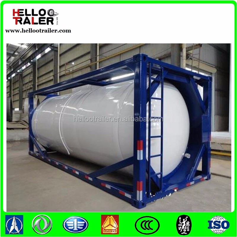 T75 Cryogenic Tank, ISO 20 feet CO2 Tank Container