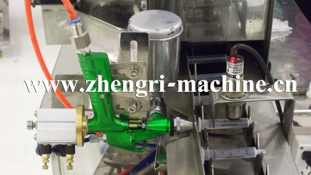 Automatic Screen Printer For Disposable Syringes Barrel