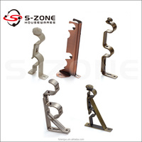 Curtain Brackets Curtain Accessories drapery rod and hardware