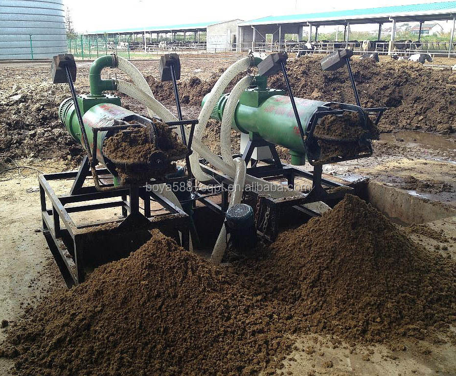 chicken farm manure processing machine