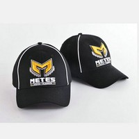 Fitted promotional 6 panel baseball cap