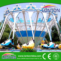 Funny and attractive theme park games rides Super swing for sale