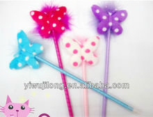 wholesale ball pen with butterfly style for promotion