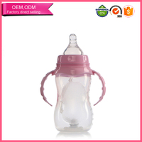 Customized made bpa free pp baby bottle manufacturers usa whoselase