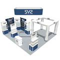 DeTian Offer 20x20ft Expo Stand Exhibition Display with Free Design