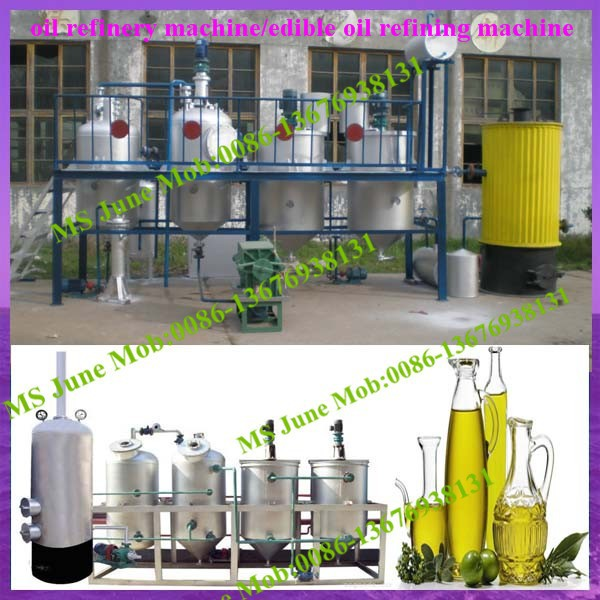High Quality Vegetable Oil Refinery Equipment for sale (skype:junemachine)