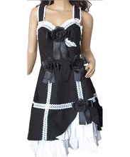 cotton lace gothic punk lolita dress for harajuku cosplay