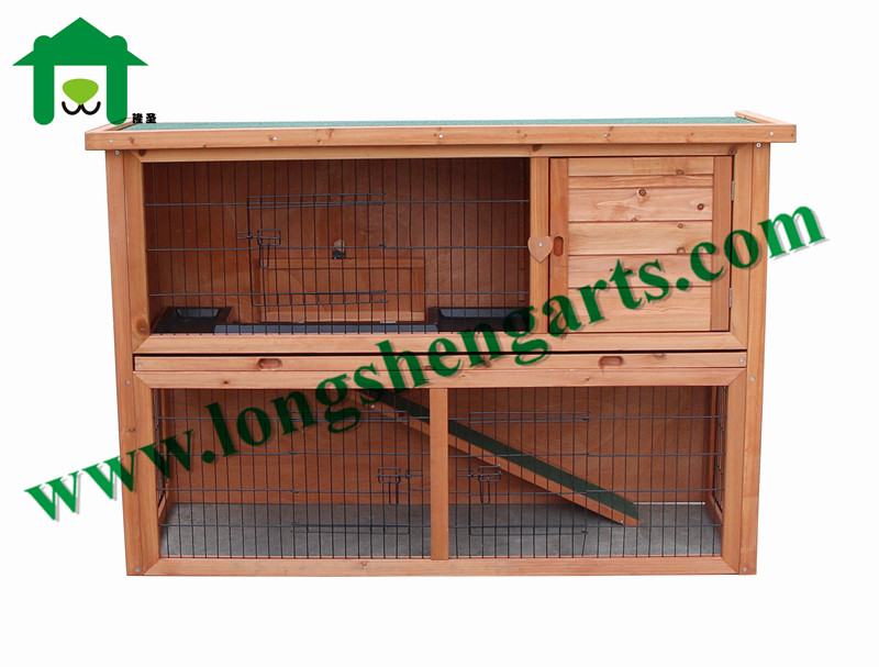 House hutch wooden rabbit cage