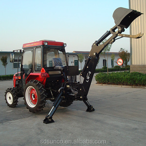 cheap tractor towable backhoe