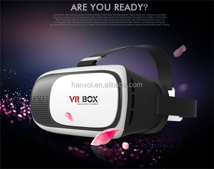2016 Hot Product 3D VR BOX 2.0 VR BOX 3D Glasses vrarle vr box