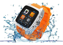 Support 2G 3G sports monitor waterproof Best gift x01 smart watch, bluetooth smart watcth with camera from China factory!