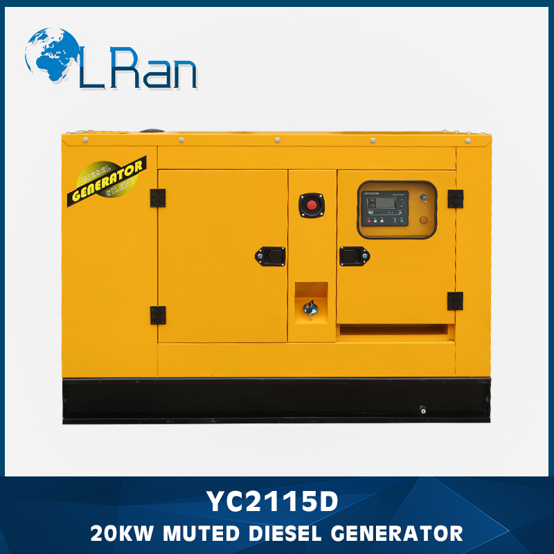 Soundproof diesel powered electric generators prices with warranty and overseas service