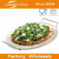 Tsingbuy Solid Durable Cheap pizza baking stone - lava stone for pizza