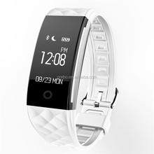 high quality S2 bluetooth sport smart bracelet for Mobile Phone heart rate Monitor smart band