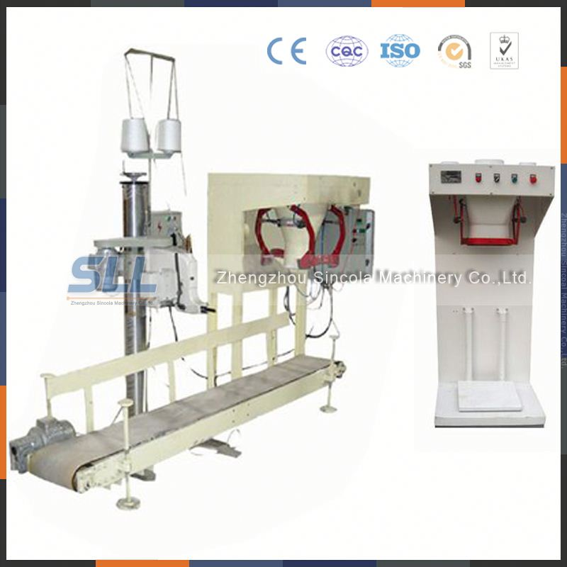 single and double mouth wall interface/heat preservation mortar weighing and packaging/packing machine