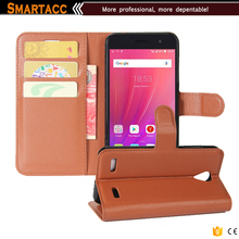 High Quality Wallet Protective Cover Case For ZTE Blade A520
