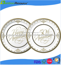 Factory direct sale disposabel food grade hotel dinner plate