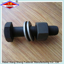 High strength bolt with large hexagon head hexagon nuts and plain washer for steel structures