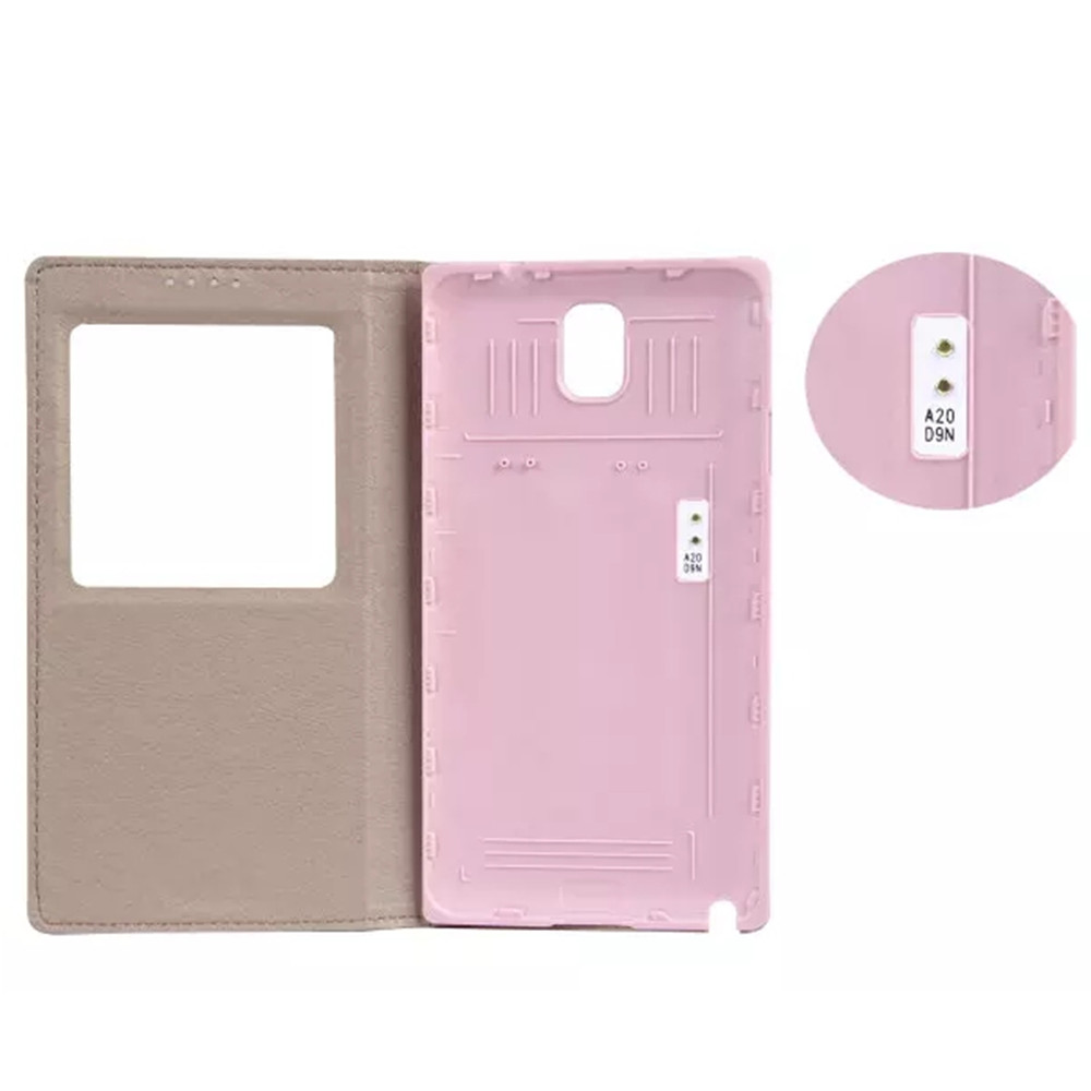 business genuine leather phone case for galaxy note 3 with chip dormancy for samsung note3 phones cases cowhide
