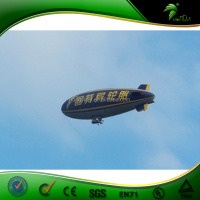Large custom zeppelin advertising inflatable rc airship outdoor blimp for sale