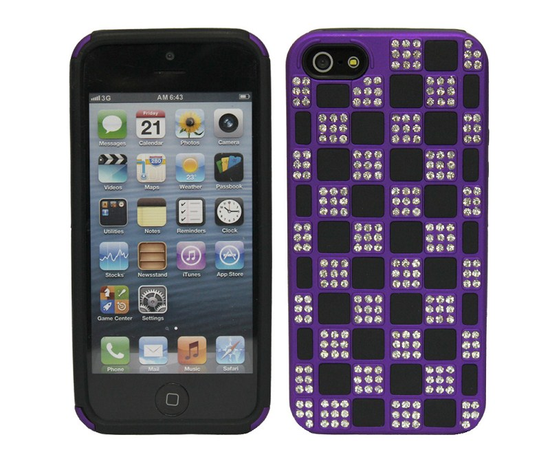Diamond design case for iphone 5,New arrival diamond silicone case for Iphone5 bling bling bling