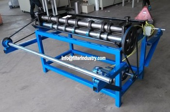 Air Filter Wire Mesh Slitting Machine