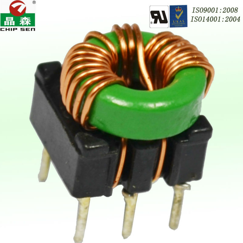 Transmitter receiver air core coil /wire wound common mode choke/100uh 3a toroidal inductor