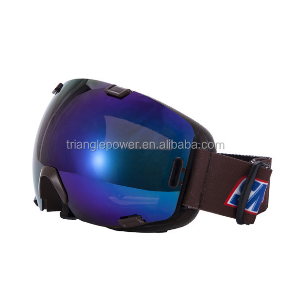 Shatter-resistant snow goggles, windproof snow goggles