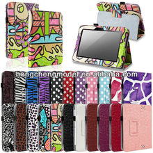 "For Amazon Kindle Fire 7"" inch New Magnetic Folio PU Leather Case Cover w/ Stand"