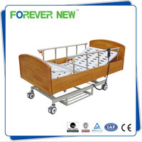 YXZ-C-005 Delux Wood Three Function Medical Electric Home Care nursing bed