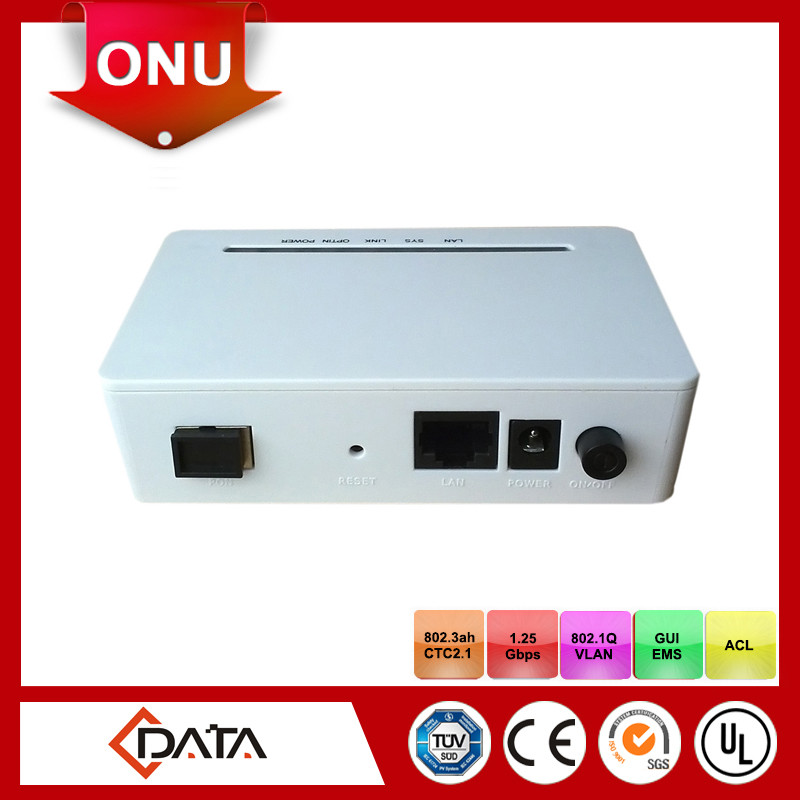 High quality 1GE and 1FE EPON ONU