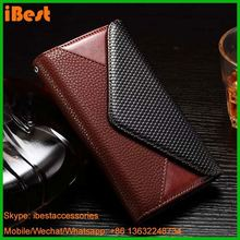 iBest Premium Black Stand Card Holder Wallet Case Flip Cover Leather Case for LG G4,back cover for lg g4