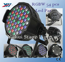 54*1W Pro Lighting RGBW Mixing Led Par Can For Dj Party Stage Show