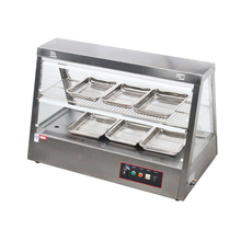 Hot Sale Factory Price Glass Food Display Warmer/Glass Food Warmer Display Showcase/Food Warmer Display Cabinet