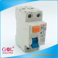 china supplier 2 poles 63a 30ma 100ma 300ma rccb rcd rcbo elcb residual current /earth leakage circuit breaker rating or price