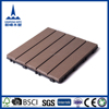 Cheap, anti-slip, waterproof interlocking WPC tiles for outdoor and garden use
